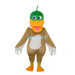Mallard Duck Adult Mascot Costume