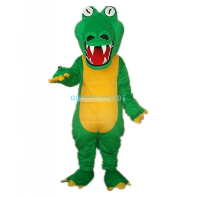 Big Mouth Crocodile Alligator Adult Mascot Costume