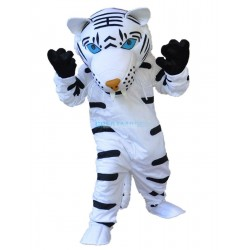 White Tiger Mascot Costume Free Shipping