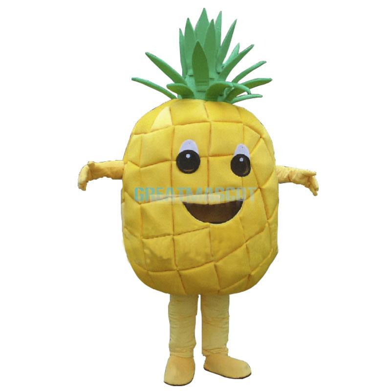 Hot Pineapple Mascot Costume