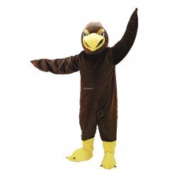 Brown Hawk Lightweight Mascot Costume