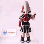 Red Spartan Trojan Knight Sparty Mascot Costume