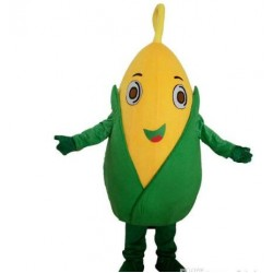 Corn Mascot Costume Fruits Vegetables Costume Mascot