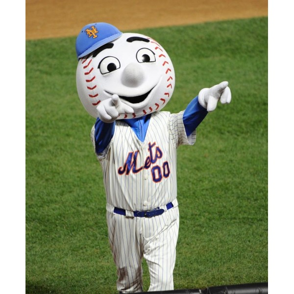Men Mets mascot costumes