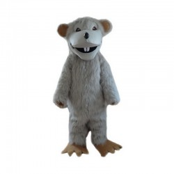 Gray Mouse Mascot Costumes Free Shipping