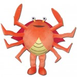 Hot Sale Orange Crab Mascot Costume