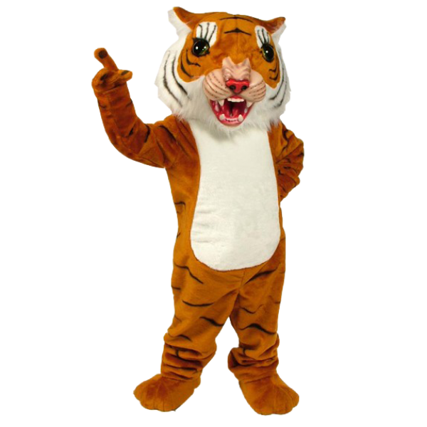 Big Cat Tiger Mascot Costume Free Shipping