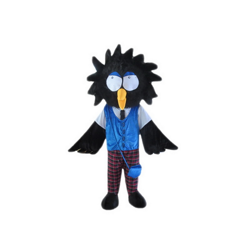 Cartoon Crow Mascot Costume