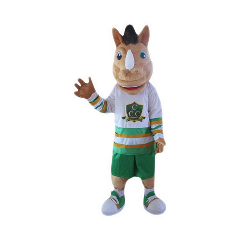 Cartoon Brwon  Unicorn Mascot Costume