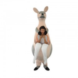 Kangaroo Mother Mascot Costume Free Shipping