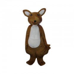 Cute Adult Kangaroo Mascot Costume Free Shipping