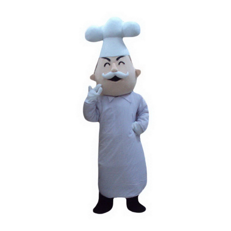 Baker Cook Mascot Costume Free Shipping