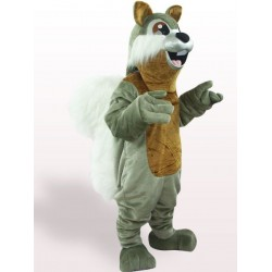 Dark Silver Squirrel Mascot Costume Free Shipping