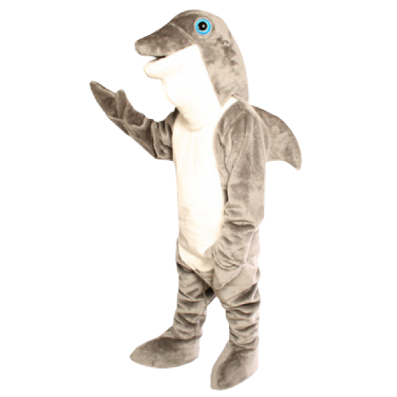Dolphin Mascot Costume Free Shipping