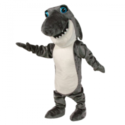 Johnny Jaws Mascot Costume Free Shipping