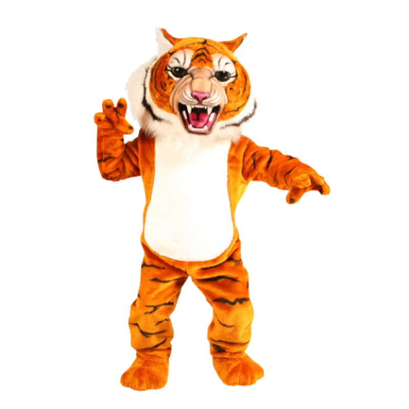 Super Tiger Mascot Costume Free Shipping