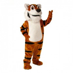 Toby Tiger Mascot Costume  Free Shipping