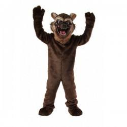 Wolverine Mascot Costume Free Shipping