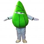Green Dumplings Mascot Costumes Free Shipping