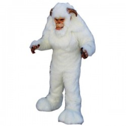 Yeti Long Wool Snowman Mascot Costume