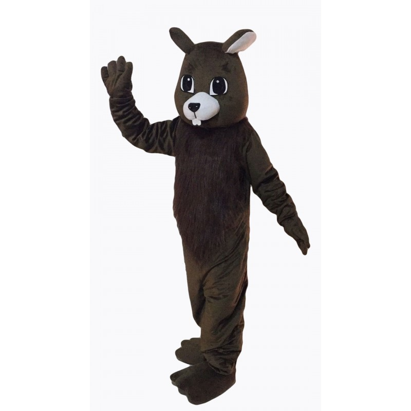 Brown Squirrel Mascot Costume