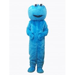 Blue Sesame Street Cookie Monster Mascot Costume